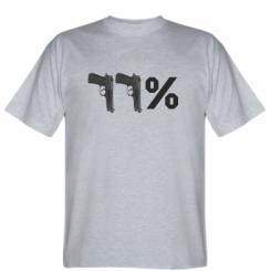 Футболка Одинадцять відсотків пістолети