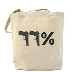 Сумка Одинадцять відсотків пістолети