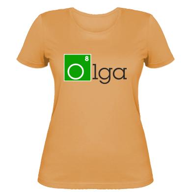 Жіноча футболка Olga