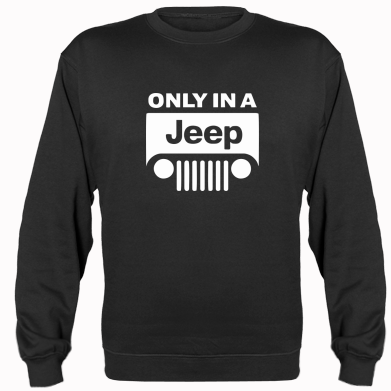 Купити Реглан Only in a Jeep