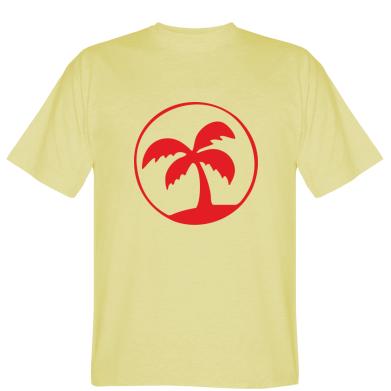 Футболка пальма