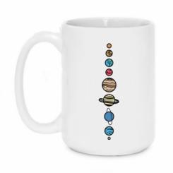 Кружка 420ml Parade of planets