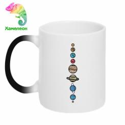 Кружка-хамелеон Parade of planets