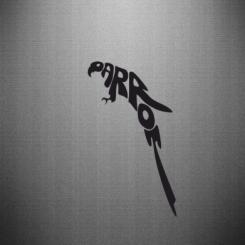 Купити Наклейка Parrot
