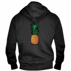 Чоловіча толстовка на блискавці Pineapple