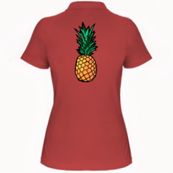 Жіноча футболка поло Pineapple