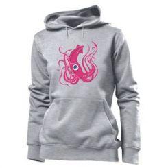 Толстовка жіноча Pink octopus