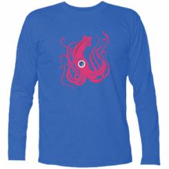 Футболка з довгим рукавом Pink octopus