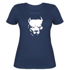 Купити Жіноча футболка Питбуль