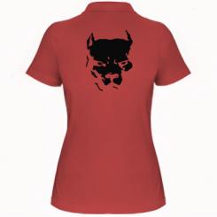 Купити Жіноча футболка поло Питбуль