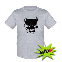 Купити Дитяча футболка Питбуль
