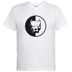 Купити Чоловічі футболки з V-подібним вирізом Pitbull