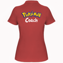 Жіноча футболка поло Pokemon Coach