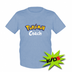 Дитяча футболка Pokemon Coach