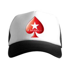 Кепка-тракер Poker Stars Game