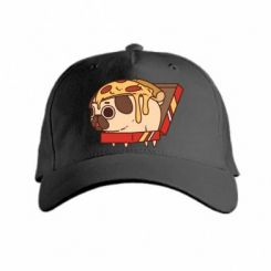 Кепка Pug and pizza