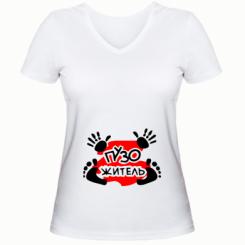 dce02d413f0a Женские футболки с v-образным вырезом Беременным - купить в Киеве ...