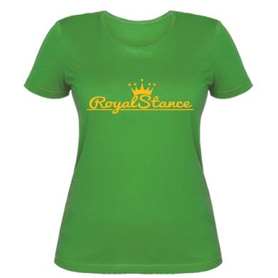Купити Жіноча футболка Royal Stance