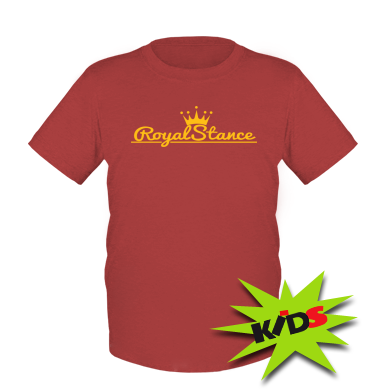 Купити Дитяча футболка Royal Stance