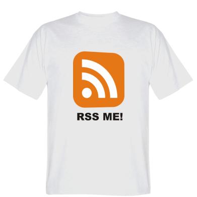 Футболка RSS Me