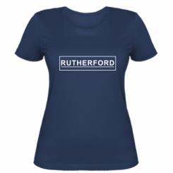 Жіноча футболка Rutherford