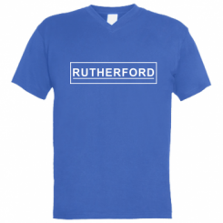 Чоловіча футболка з V-подібним вирізом Rutherford