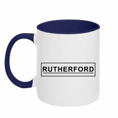 Кружка двокольорова Rutherford