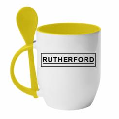 Кружка з керамічною ложкою Rutherford