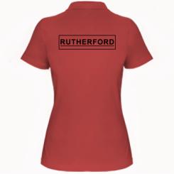 Жіноча футболка поло Rutherford