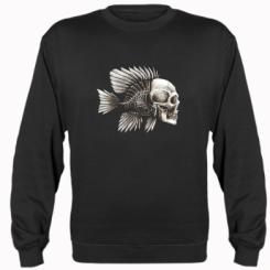 Реглан Риба-череп