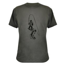 Камуфляжна футболка Рибалка