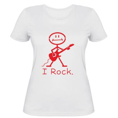 Жіноча футболка З гітарою