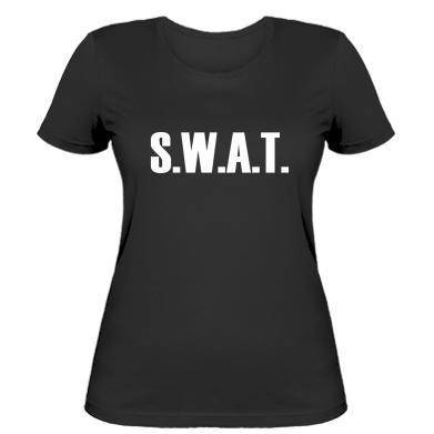 Купити Жіноча футболка S.W.A.T.
