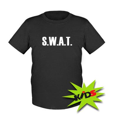 Купити Дитяча футболка S.W.A.T.