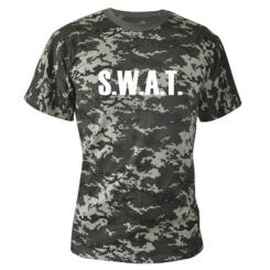 Купити Камуфляжна футболка S.W.A.T.
