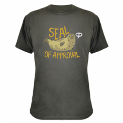 Камуфляжна футболка Seal of approval