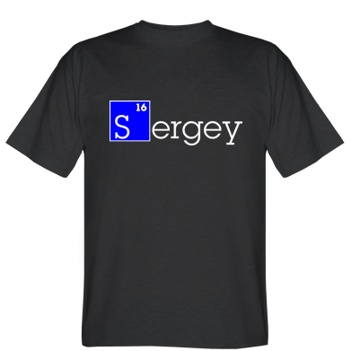 Футболка Sergey