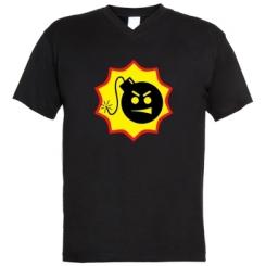 Чоловічі футболки з V-подібним вирізом Serious Sam