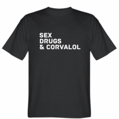 Футболка Sex, Drugs & Corvalol