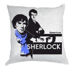 Подушка Sherlock (Шерлок Холмс)
