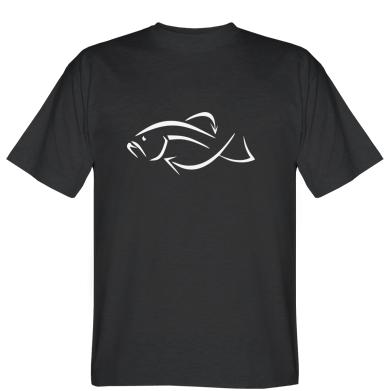Футболка Силуэт рыбы