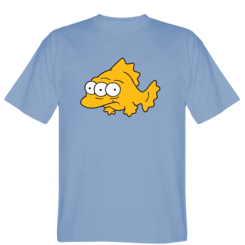 Футболка Simpsons three eyed fish