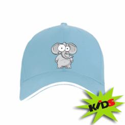 Дитяча кепка Слон окатий