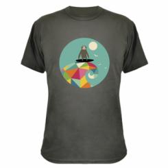 Камуфляжна футболка Sloth on a wave