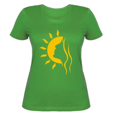 Жіноча футболка Сонячна дівчина