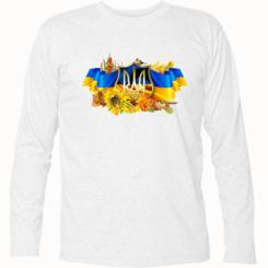 Футболка з довгим рукавом Сонячна Україна