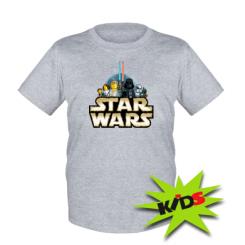Детская футболка Star Wars Lego