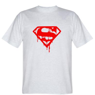 Футболка Стекающий Superman