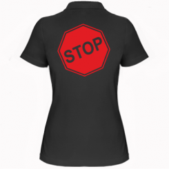 Купити Жіноча футболка поло STOP