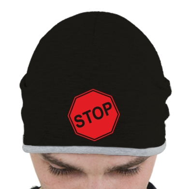 Купити Шапка STOP